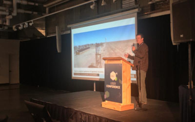 Presenting at the first Pix4D User Conference in Denver