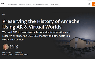 Preserving the History of Amache Using AR & Virtual Worlds