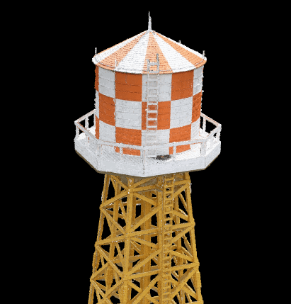 Amache Water Tower in 3D