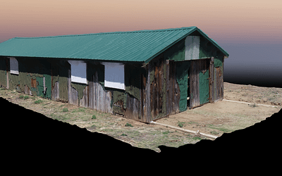 Amache 11F Rec Hall Point Cloud