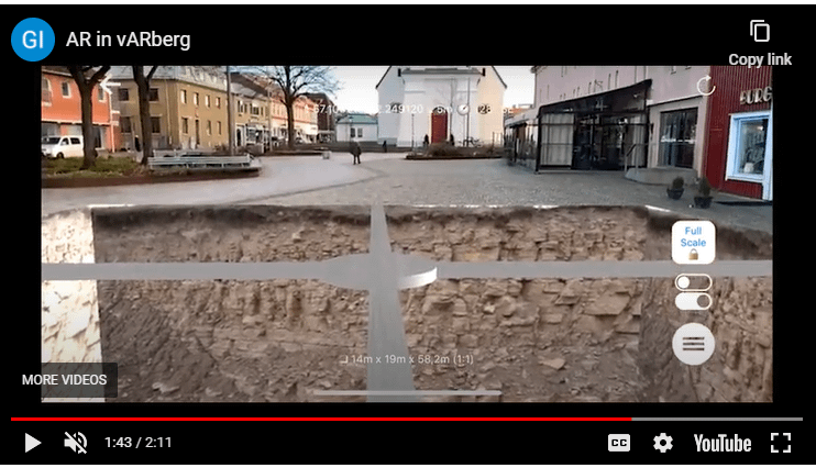 Fredrik Johnsson and his colleagues explored the train tunnel under Varberg Municipality in Sweden