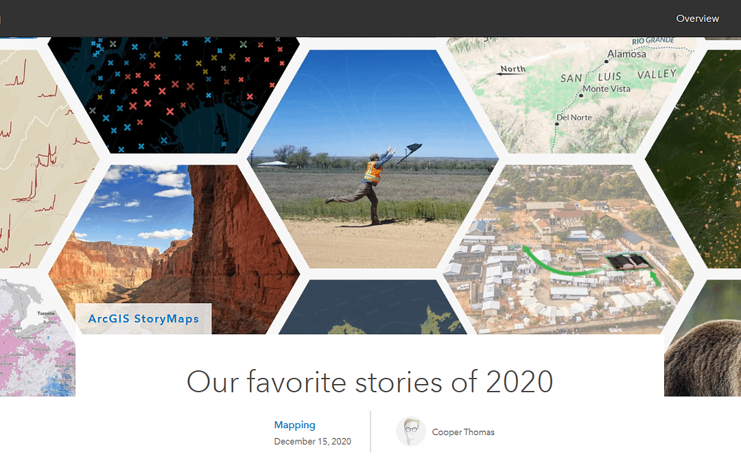 Esri Favorite Stories of 2020 – Augmenting Amache!